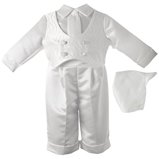 24 Month Boy Baptism Long Pant Set #1510