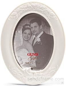 Oval Wedding Frame from Gund Gifts