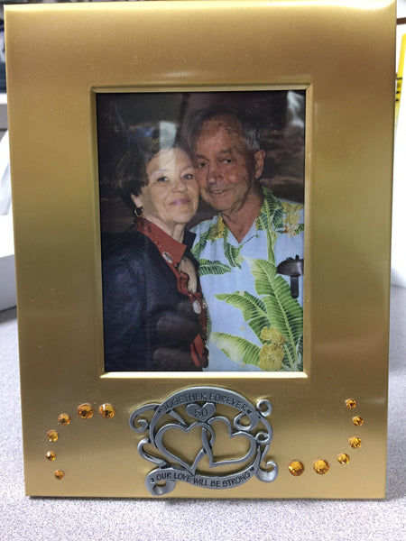 50th Anniversary Frame from CA Gifts