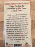 St. Louis de Montfort Laminate Holy Card