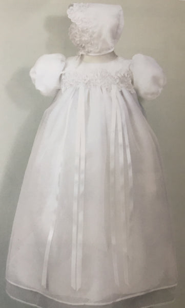 0-3 Month Baptism Gown Girl DB1370
