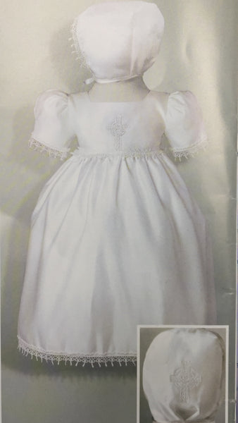 3-6 Month Girl Baptism Gown DB9380