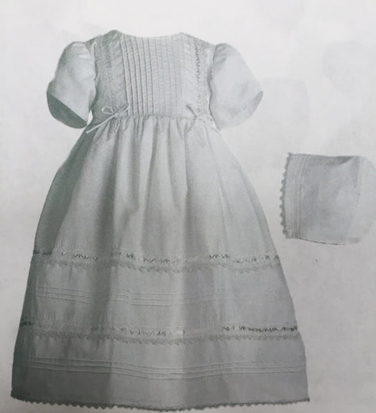 0-3 Month Baptism Gown Girl #1941