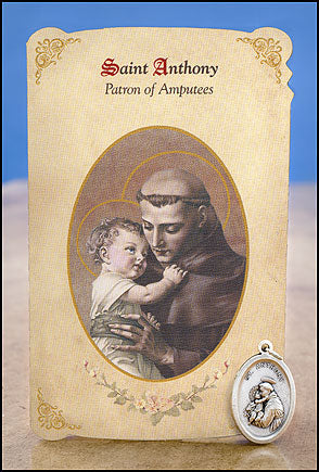St. Anthony Amputee Healing Medal Set