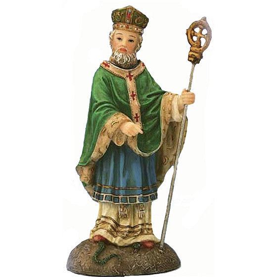St. Patrick Statue from the Florentine Collection 5'H