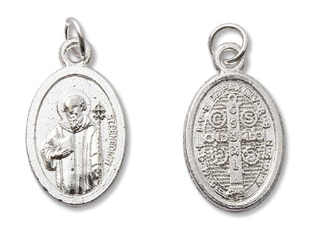 St. Benedict Oxidized Medal
