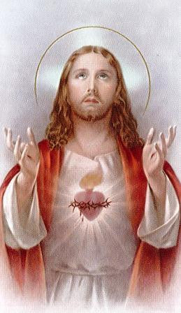Prayer for Daily Neglect-Sacred Heart Laminate Holy Card