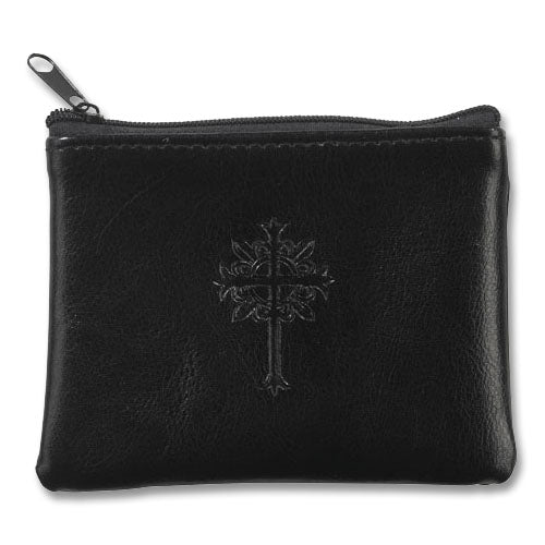 Rosary Case Zipper-Black