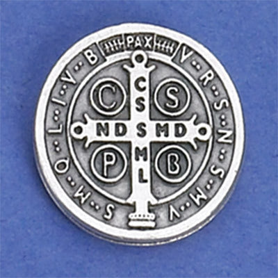 Saint Benedict Lapel Pin