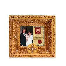 Baptism Photo Frame, 6.9-Inch Vatican Observatory Foundation from Gregg Gift for Enesco