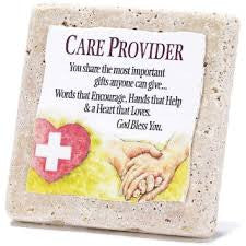Care Provider-Tabletop Tile Plaque