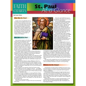 St. Paul at a Glance (Faith Charts)