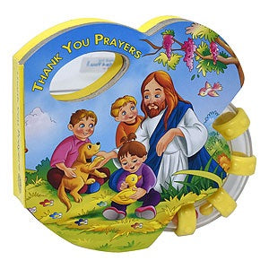 Thank You Prayers (St. Joseph Rattle Board Books)