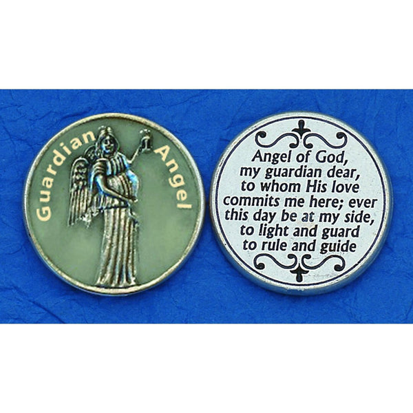 Guardian Angel Pocket Token Glow in the Dark