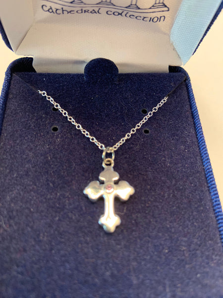 Cross Sterling Silver from Cathedral Collection
