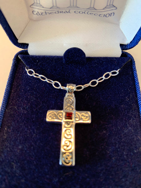 Sanctuary Cross Sterling Silver from Cathedral Collection