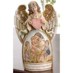 "Angel Statue ""Walk in Faith"" 7.75"""