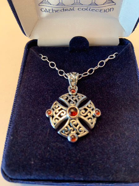 Chalice Cross Sterling Silver from Cathedral Collection
