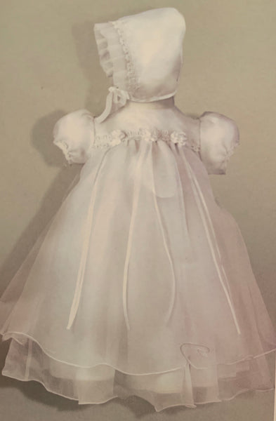 Baptism Gown 0-3