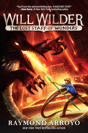 Will Wilder #2: The Lost Staff of Wonders Hardcover
