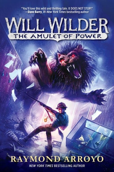 Will Wilder #3 The Amulet of Power Hardcover