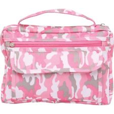 "Pink Camo Poly Canvas Bible Cover-Fits Bibles 6 1/2"" x 9 1/2"""