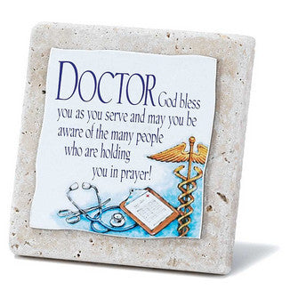 Doctor-Tabletop Tile Plaque from Dickson's Gifts