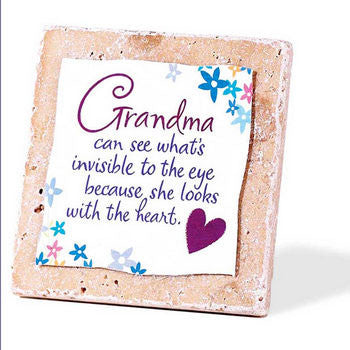 Grandma-Tile Tabletop Plaque From Dickson's Gift