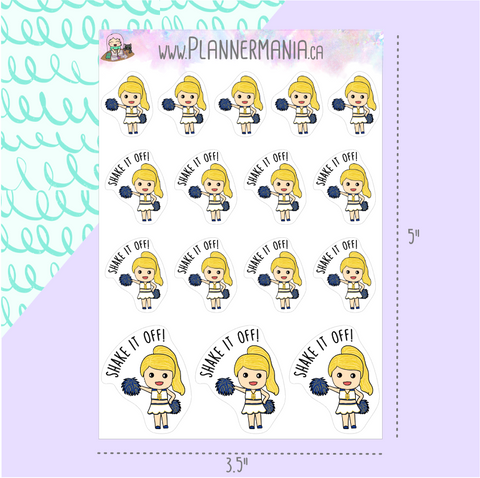 Shake It Off Stickers