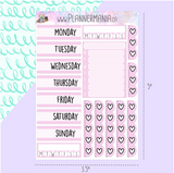 Date Cover Stickers (Multiple Colors and Patterns to Choose From!)