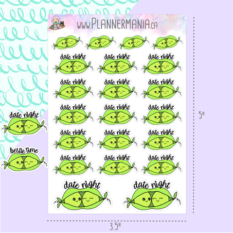 Peas In A Pod Planner Stickers