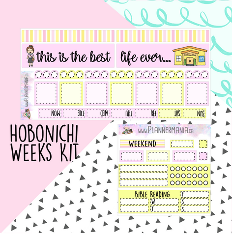 Hobonichi Weeks Kit - JW Songs - Best Life Ever