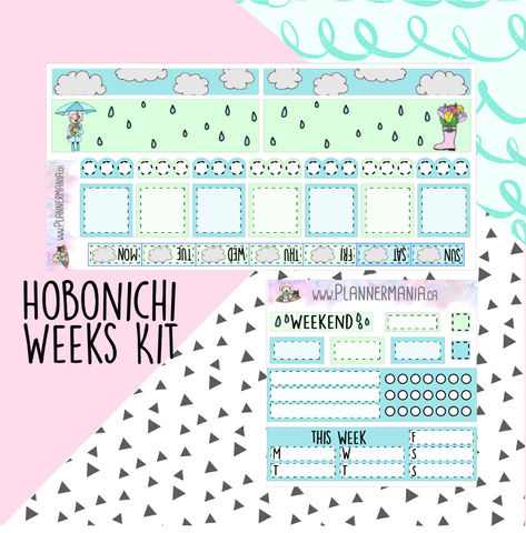 Hobonichi Weeks Kit - Rainy Days