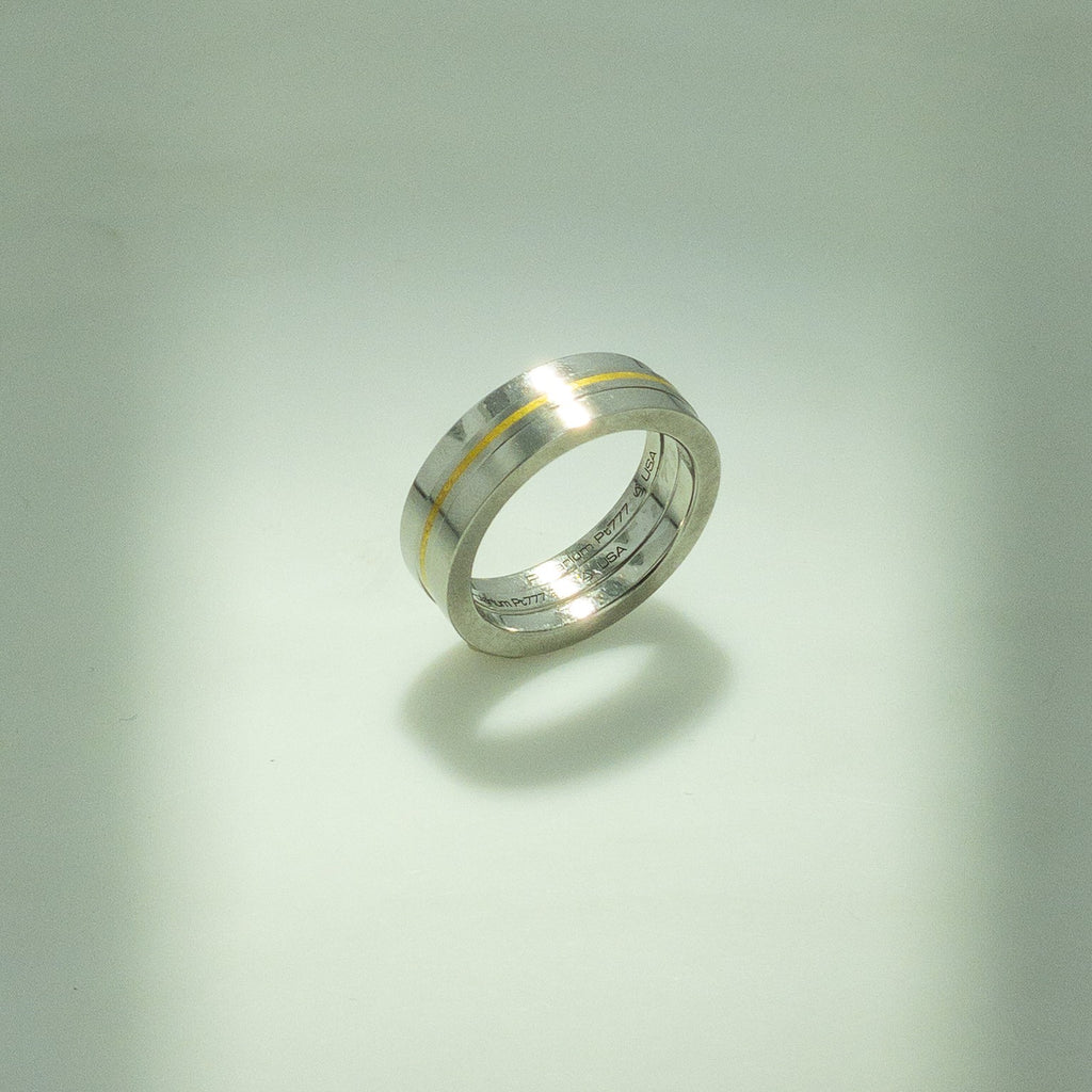 Platinum Magnetic Ring