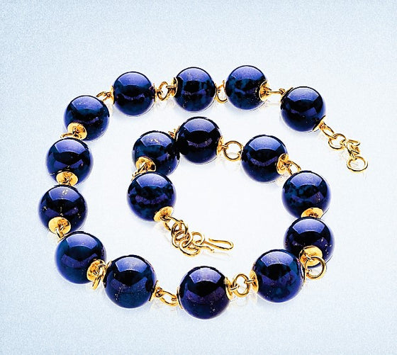 18KY Lapis Necklace