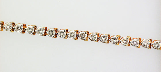 14KY Diamond Tennis Bracelet