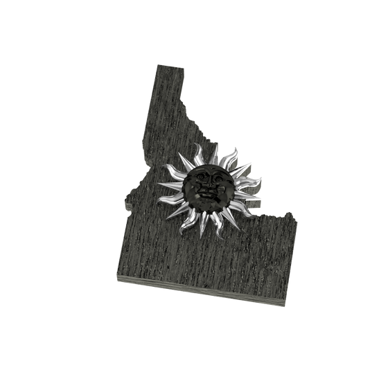 Sun Over Idaho Pendant