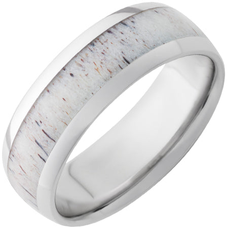 Serinium Antler Inlay Band