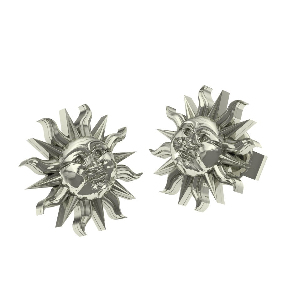Anniversary Mini Sun Post Earrings