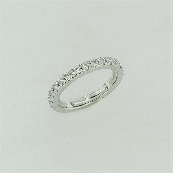 14KW Diamond Eternity Band