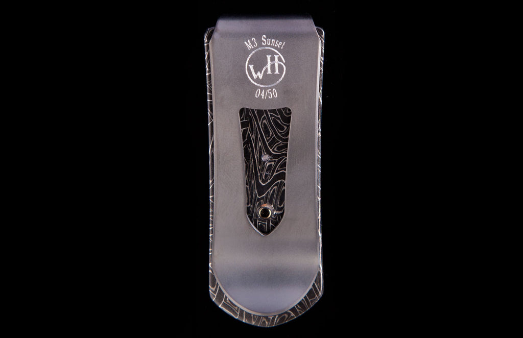William Henry Zurich Sunrise Money Clip