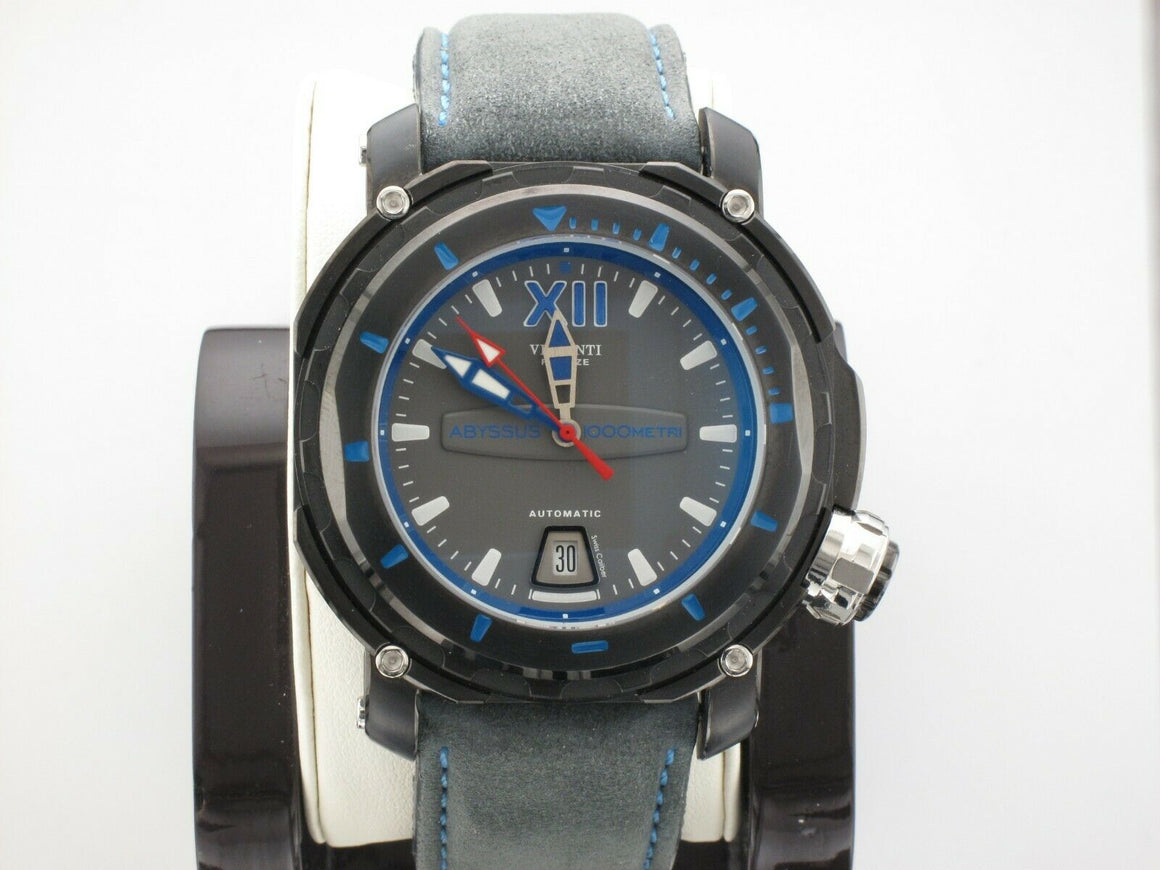 VISCONTI FULL DIVE ABYSSUS ELECTRO BLUE WATCH