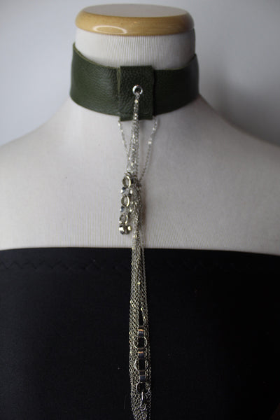 The Green Chained Choker