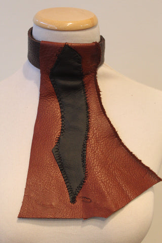 The Rustic Leather Bib