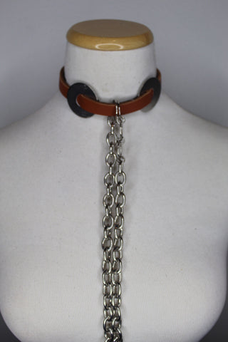 The Rustic Chained Collar