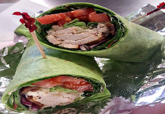 Chicken Bacon Chipotle Wrap