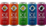 Sparkling Ice Water Plus Caffeine