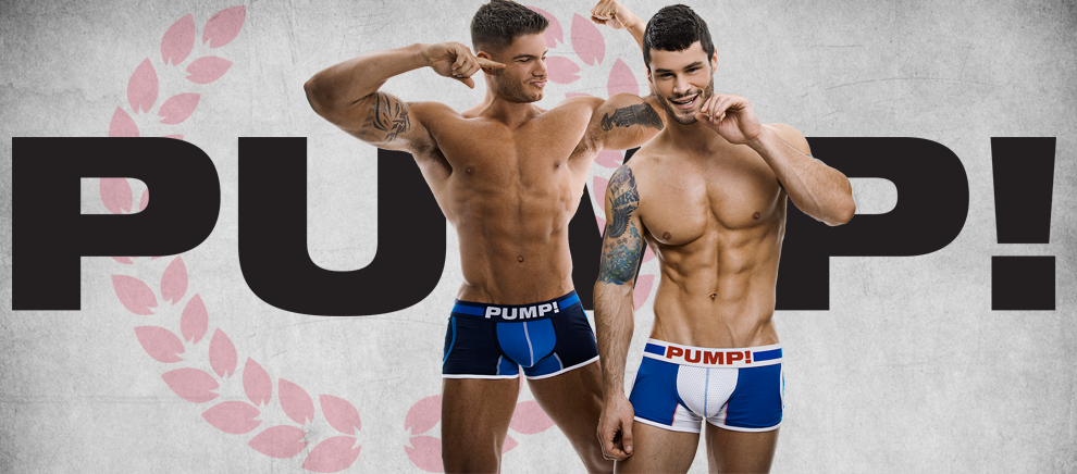 PUMP! UNDERWEAR - Vincent & Colin