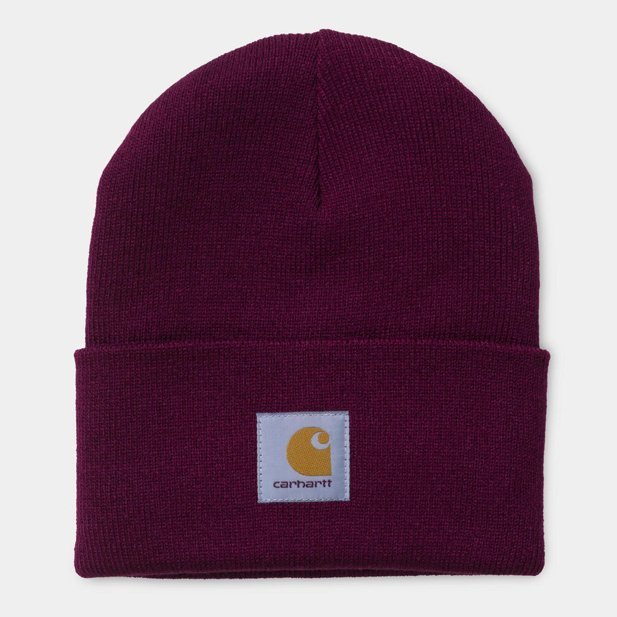 Carhartt WIP Acrylic Watch Hat Mulberry