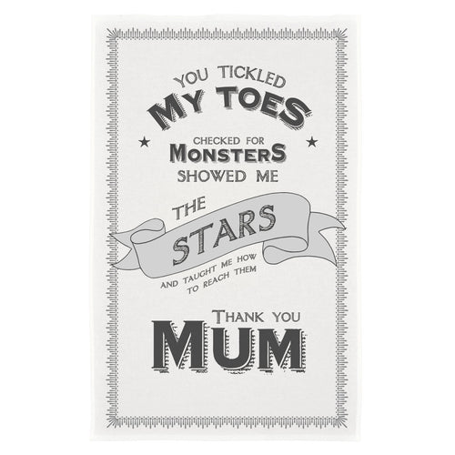 East of India 'Mum' Tea Towel